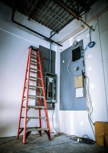 new electrical installation